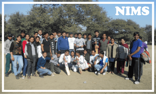 nims team in play ground
